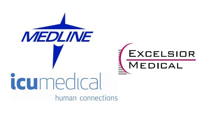 ICU Medical, Medline split $59.5 Excelsior Medical buy